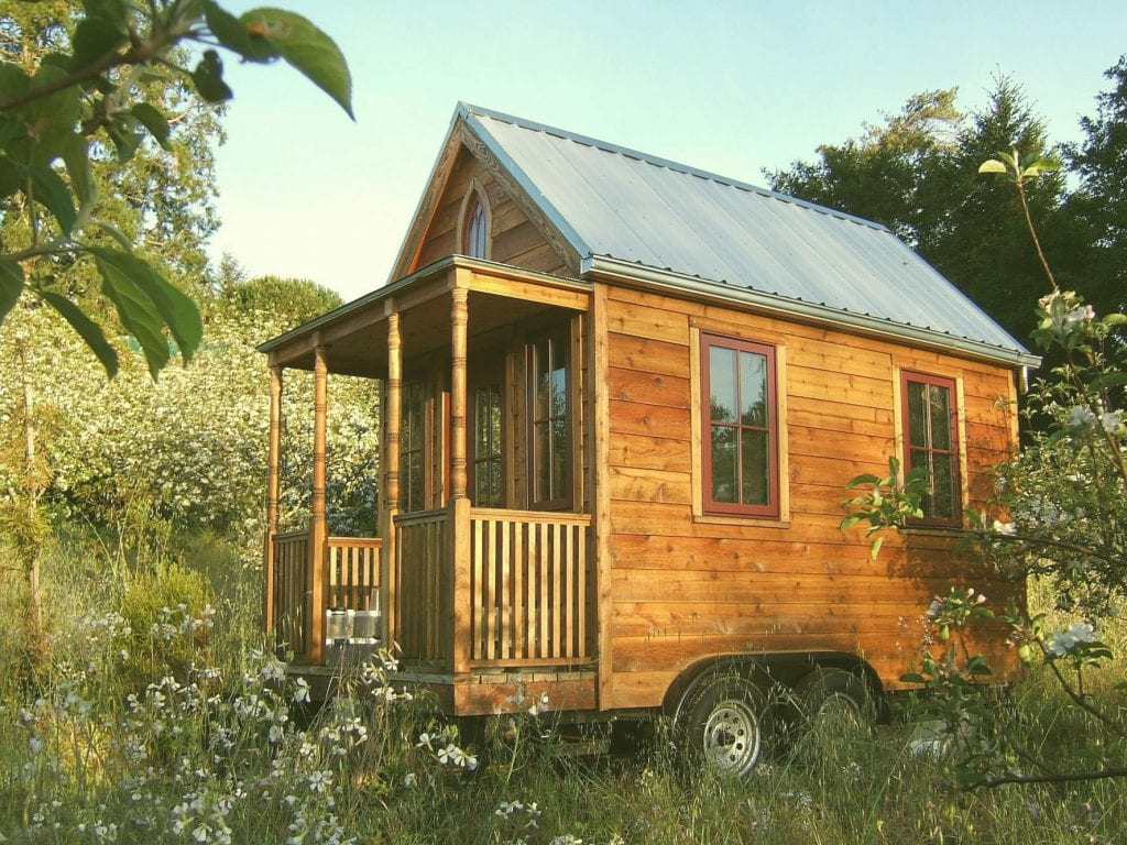 nhà gỗ mini xinh xắn