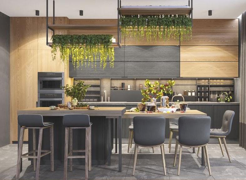 phong cách Eco mang thiên nhiên vào nhà