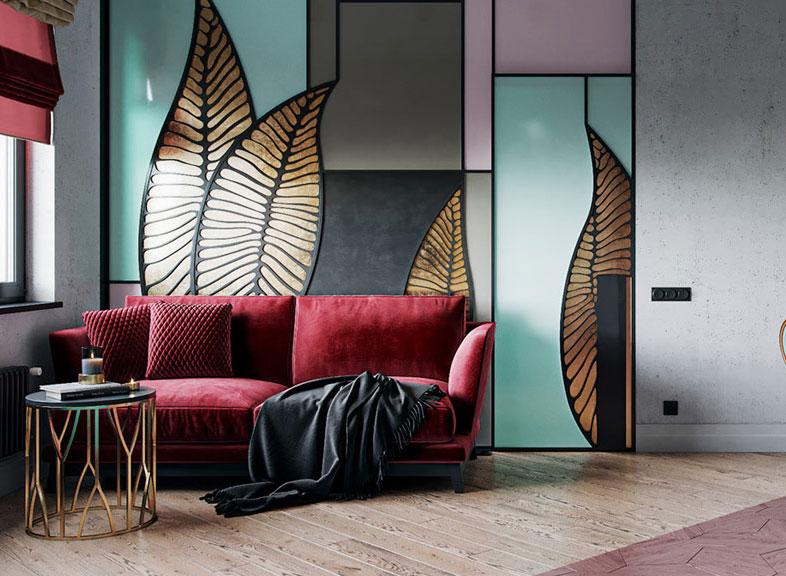 Phong cách nội thất Art Decor