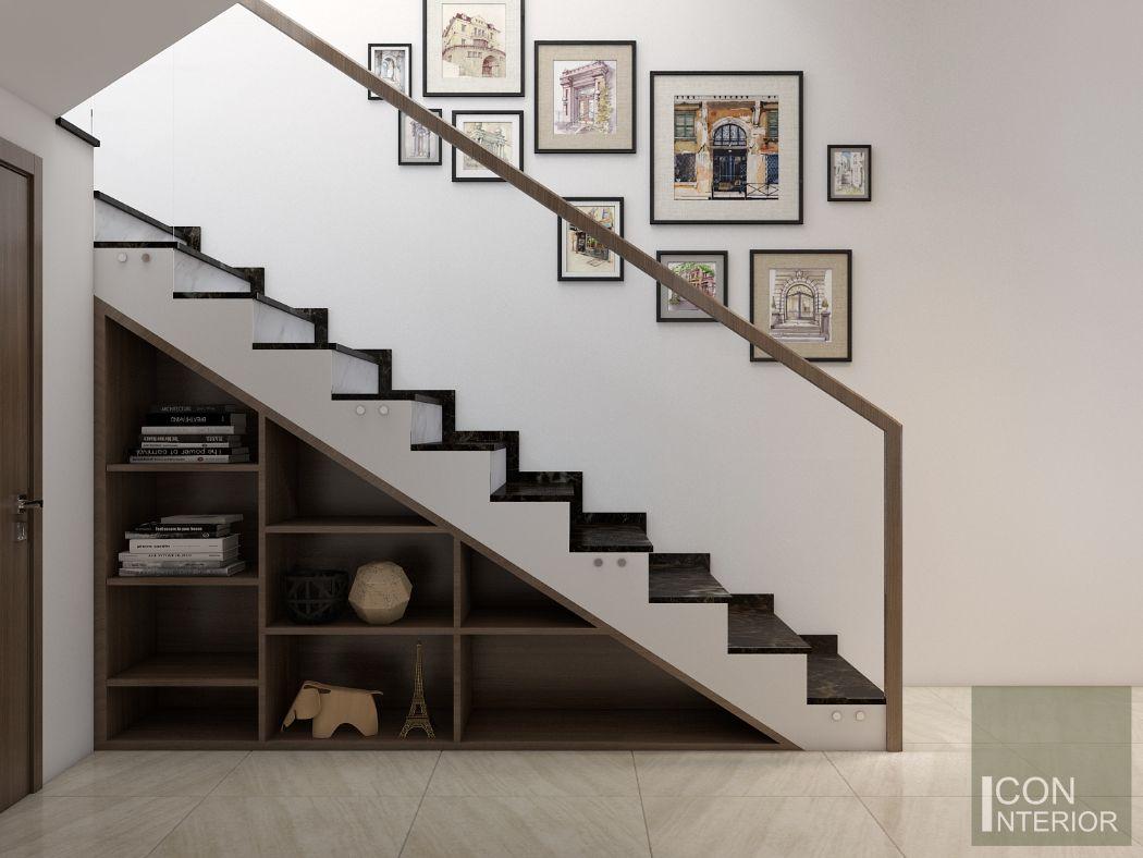 tranh treo trang trí cầu thang đẹp