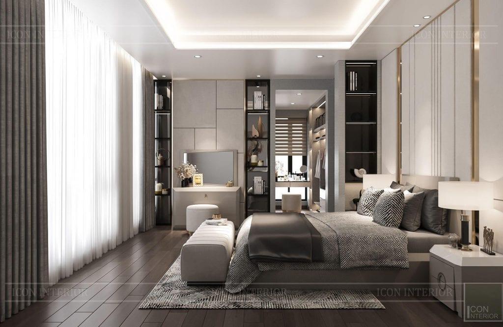 Phòng ngủ 2 - biệt thự Hado Centrosa 420m2 Mr. Tùng