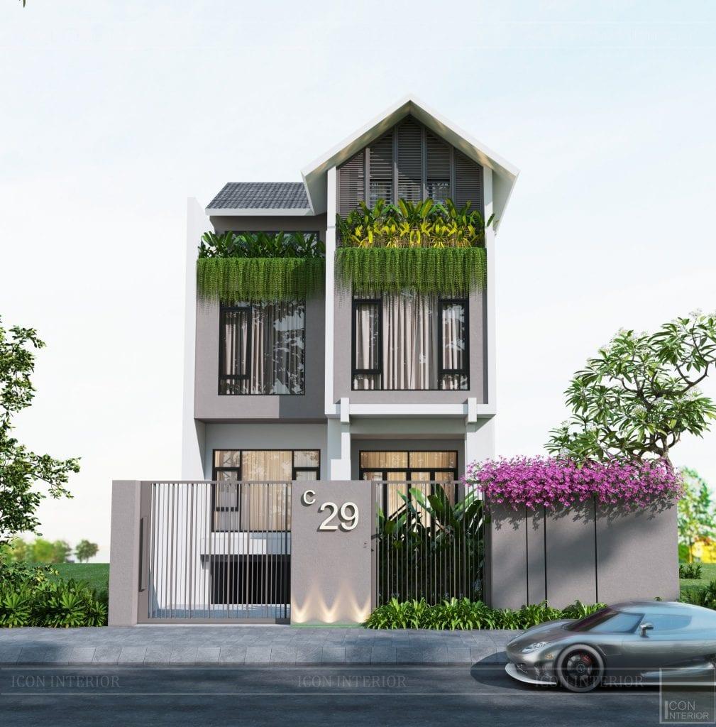 Thiết kế biệt thự Hado Centrosa 420m2 Mr. Tùng