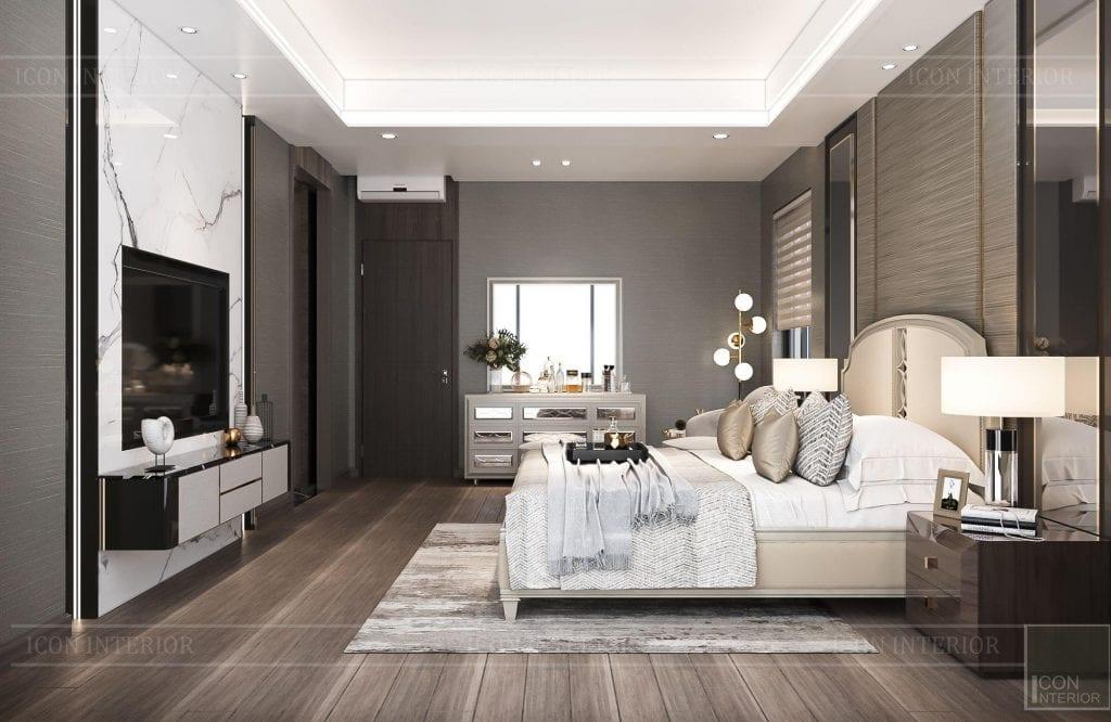 Phòng ngủ biệt thự Hado Centrosa 420m2 Mr. Tùng