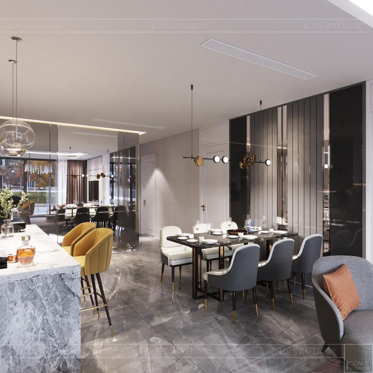 báo giá thiết kế nội thất chung cư 110m2