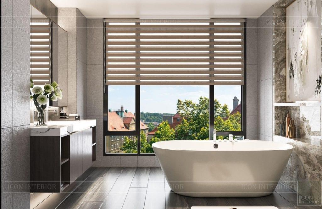 Thiết kế bồn tắm biệt thự Hado Centrosa 420m2 Mr. Tùng