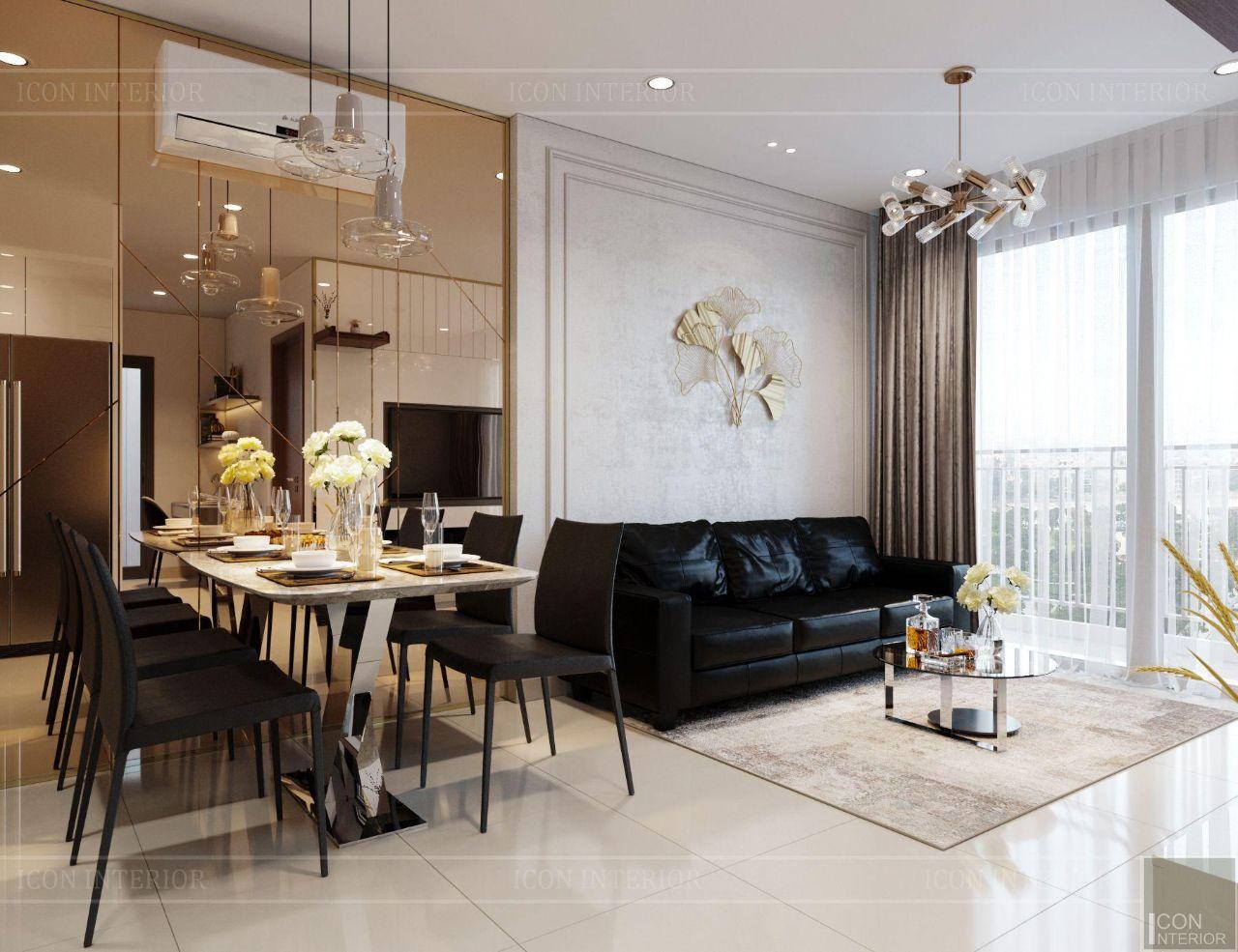 decor phòng khách hiện đại