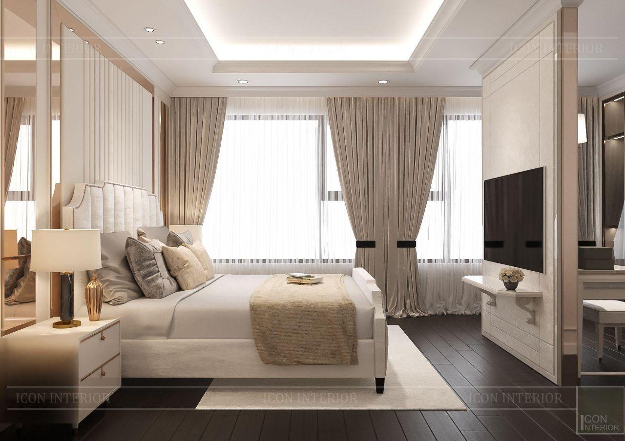 mẫu thiết kế nội thất đẹp chung cư 110m2