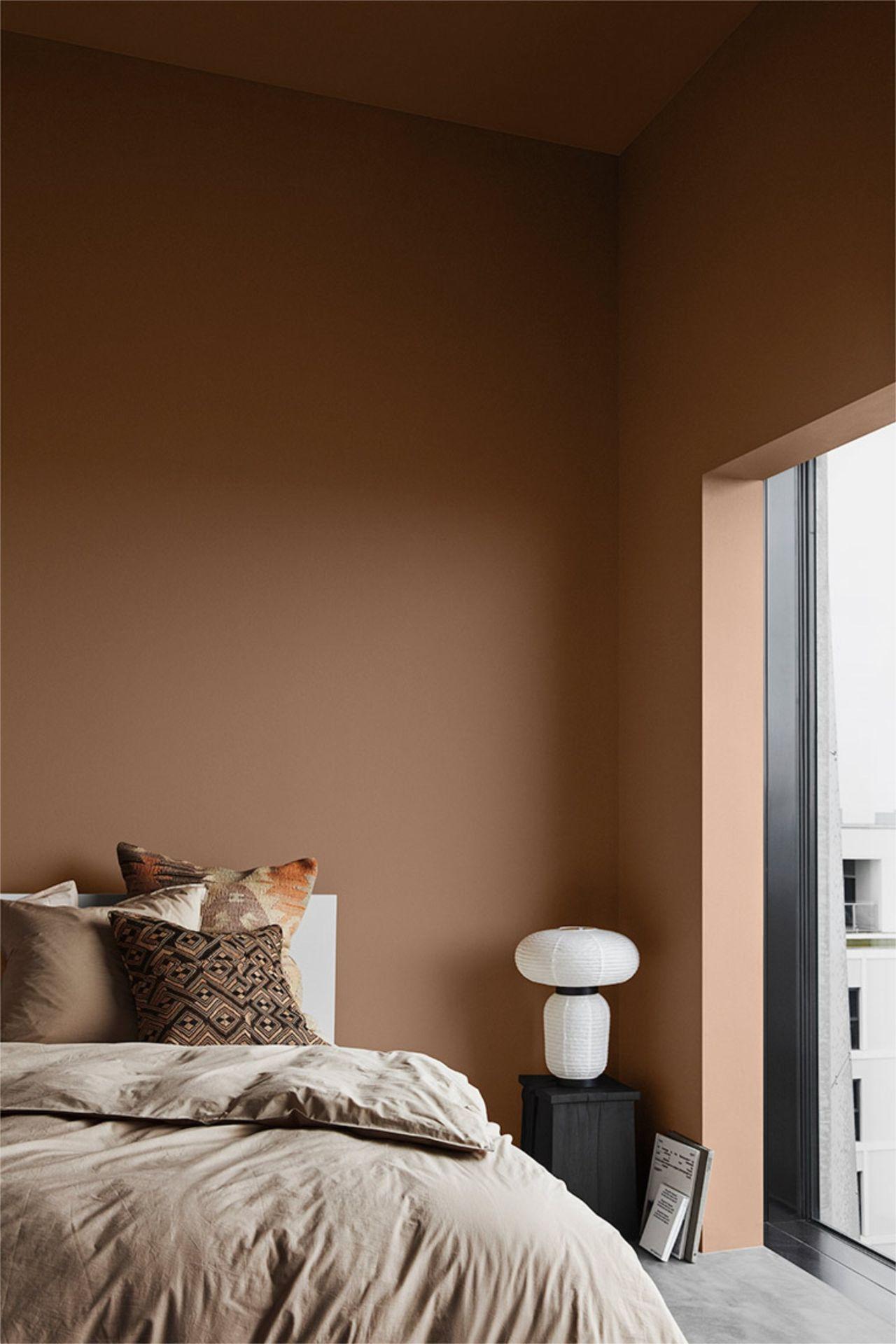 mẫu phòng ngủ sang trọng phong cách bắc âu