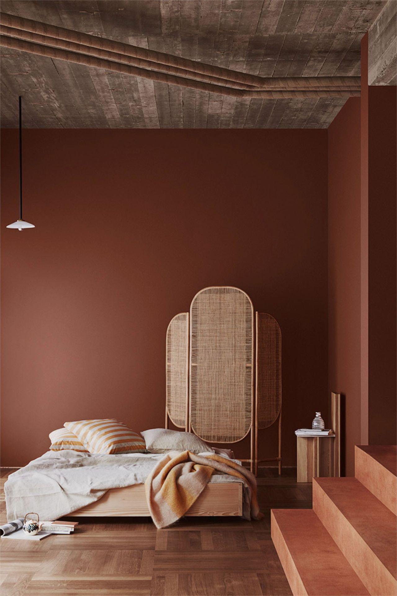 màu sắc phòng ngủ scandinavian
