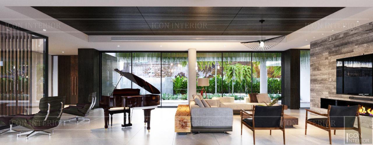 Những mẫu phòng khách hiện đại