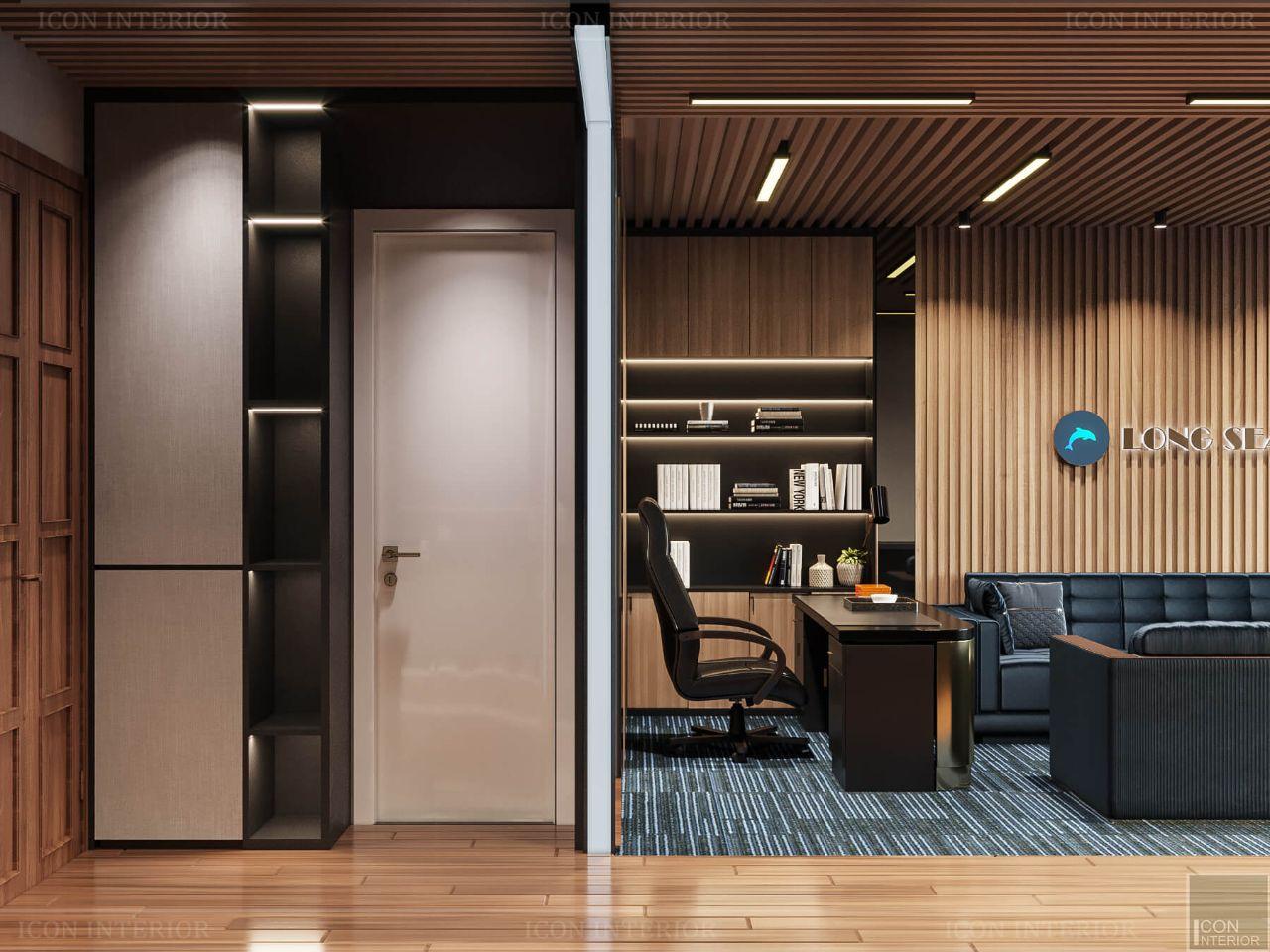 nội thất chung cư 60m2 officetel