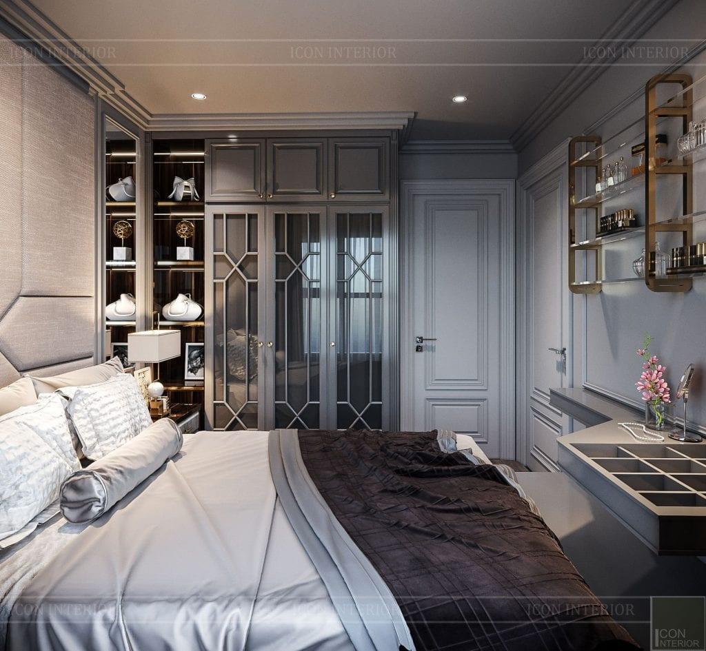 Phòng ngủ 1 - căn hộ Vinhomes Grand Park 2PN Chị Phương