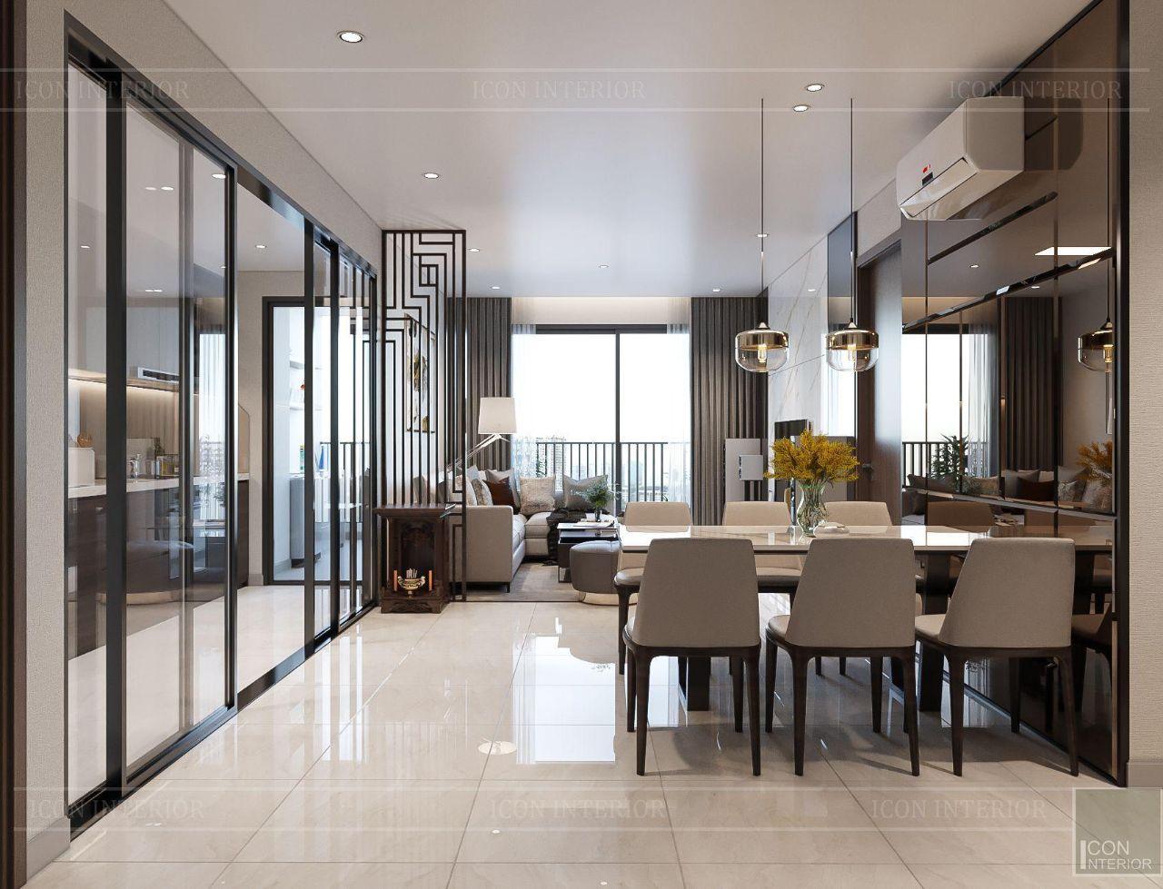 Phòng khách nhà hiện đại