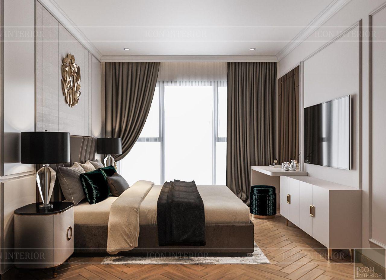 thiết kế thi công căn hộ 110m2