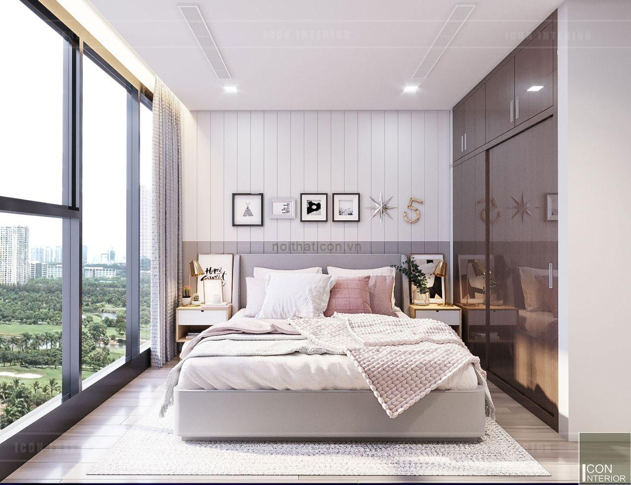 Phòng ngủ theo phong cách Scandi