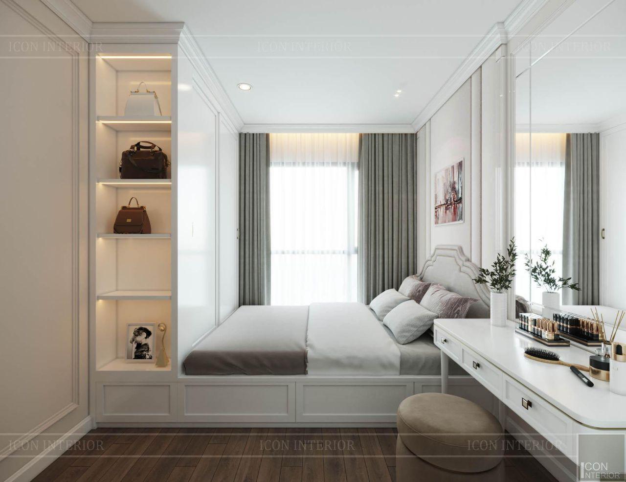 thiết kế chung cư 60m2