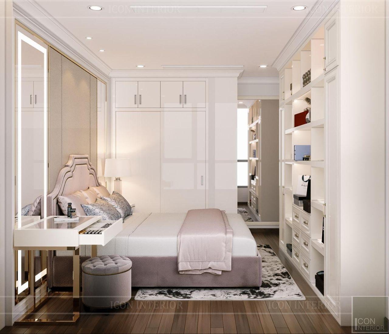 thiết kế nội thất cho chung cư 60m2