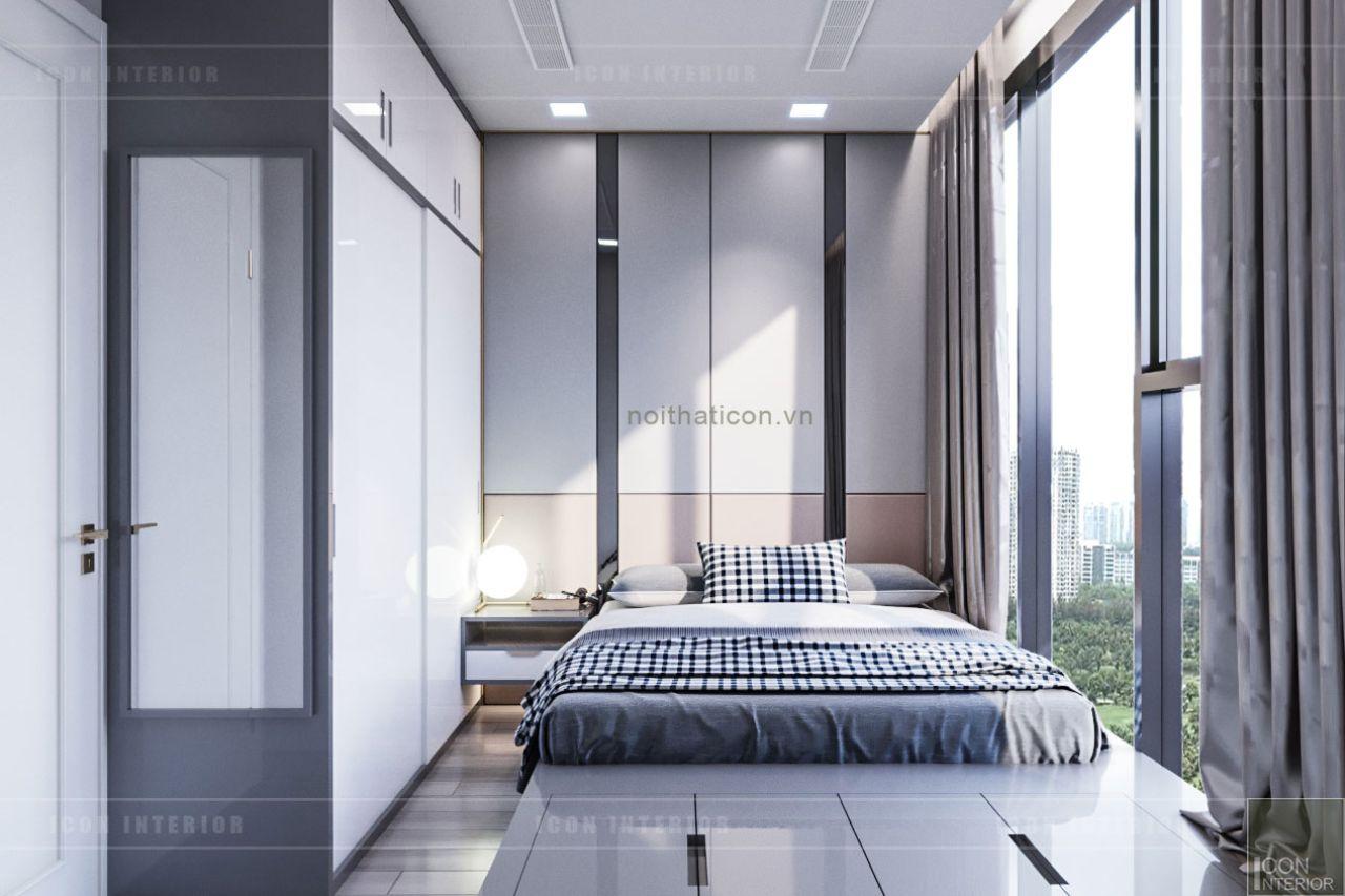 thiết kế nội thất chung cư 110m2 vinhomes bason