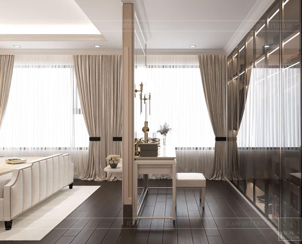 thiết kế nội thất nhà chung cư 110m2 đẹp