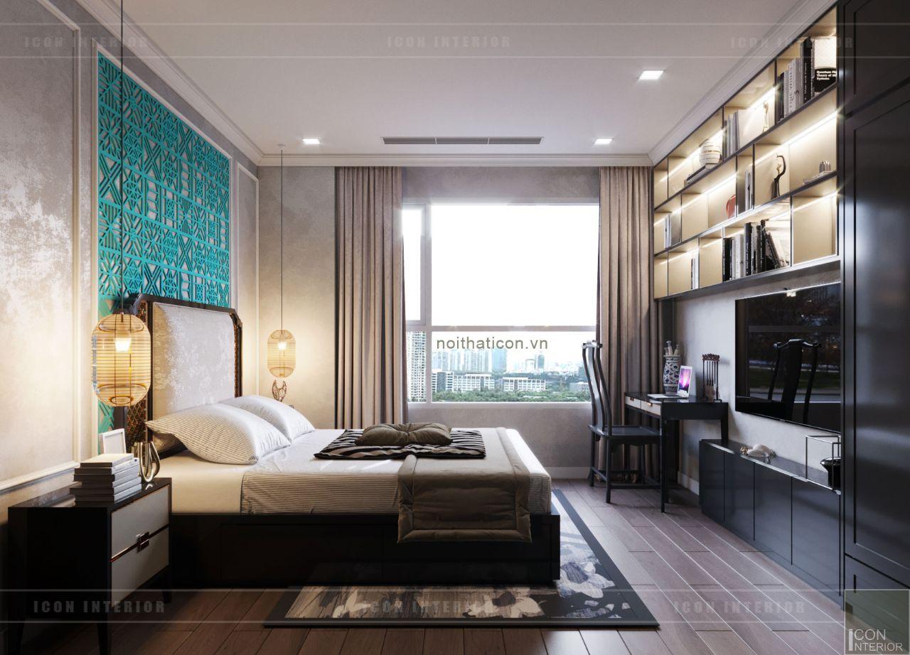 thiết kế nội thất nhà chung cư 110m2