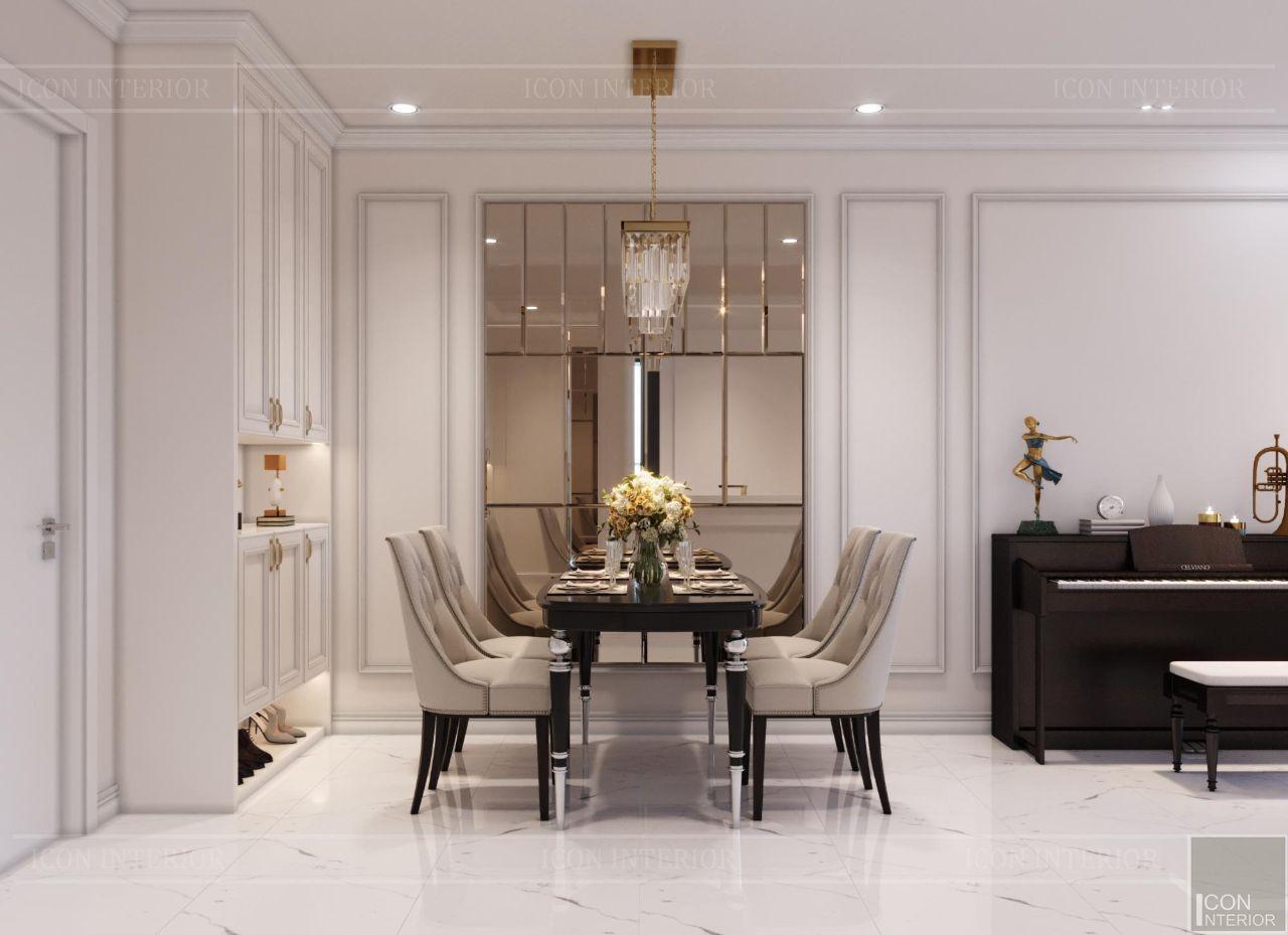 thiết kế nội thất nhà chung cư 60m2