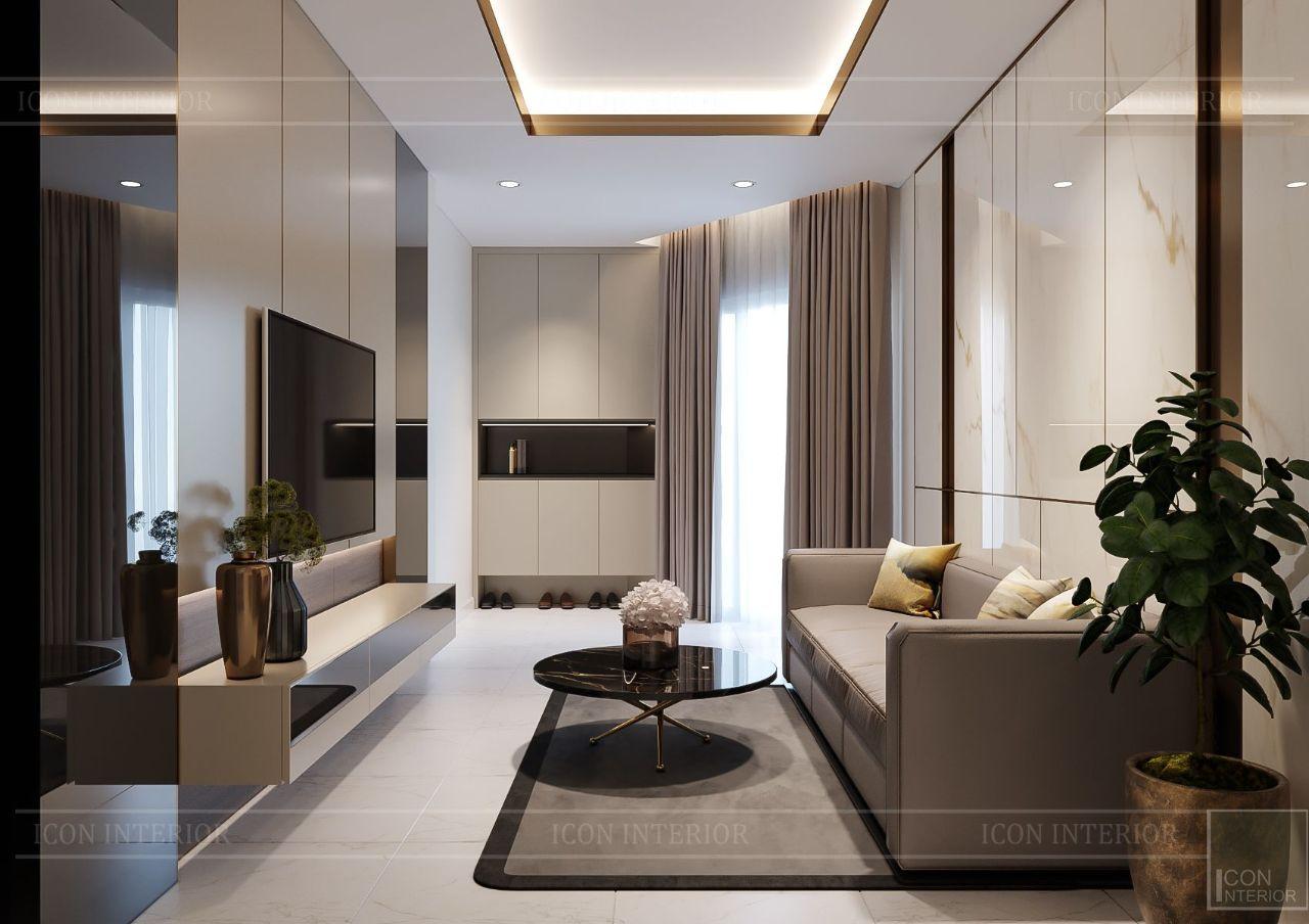 Thiết kế phòng khách đẹp hiện đại