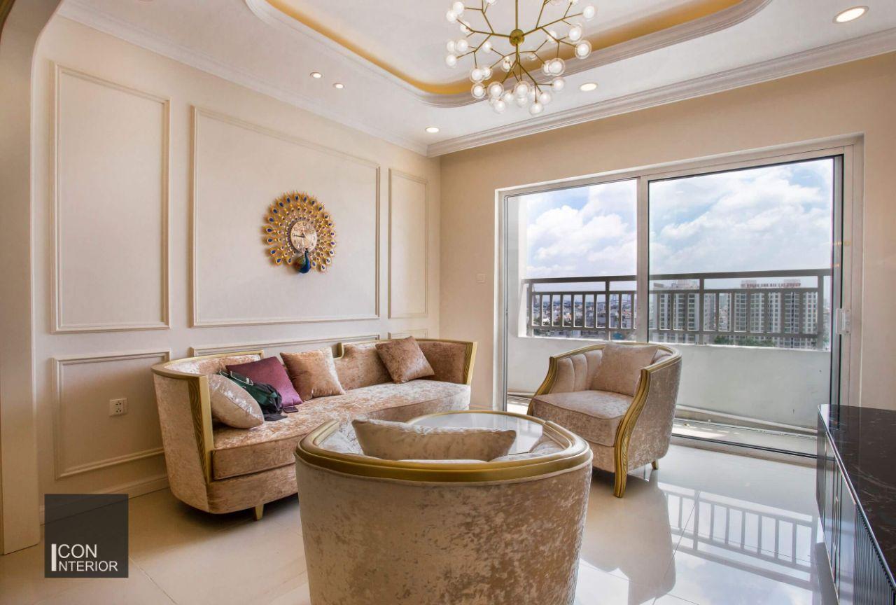 thiết kế thi công nội thất chung cư đẹp 110m2