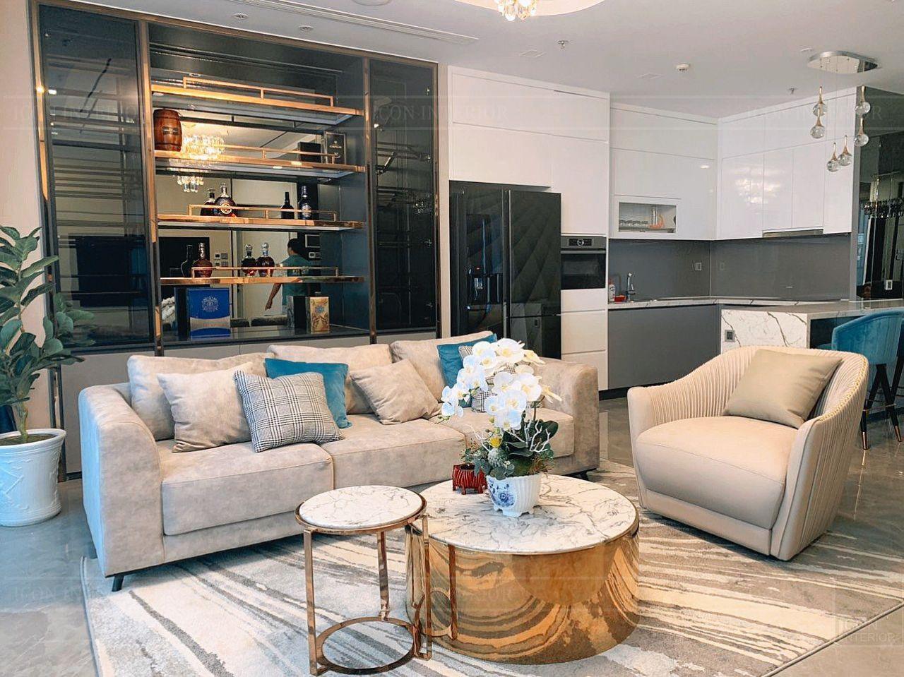 thực tế căn hộ chung cư 110m2