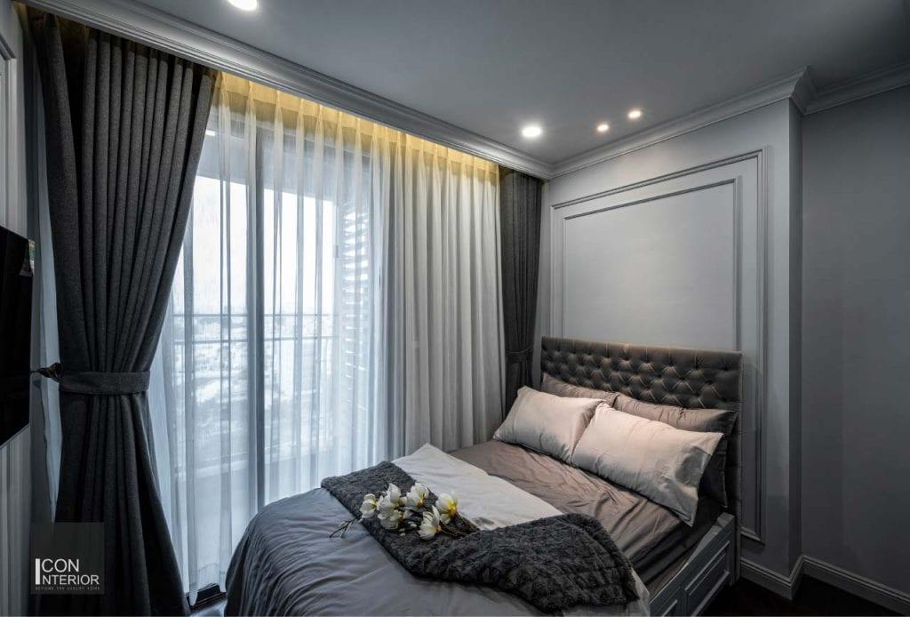 Nội thất phòng ngủ căn hộ Kingdom 101 100m2 Mr. Shang