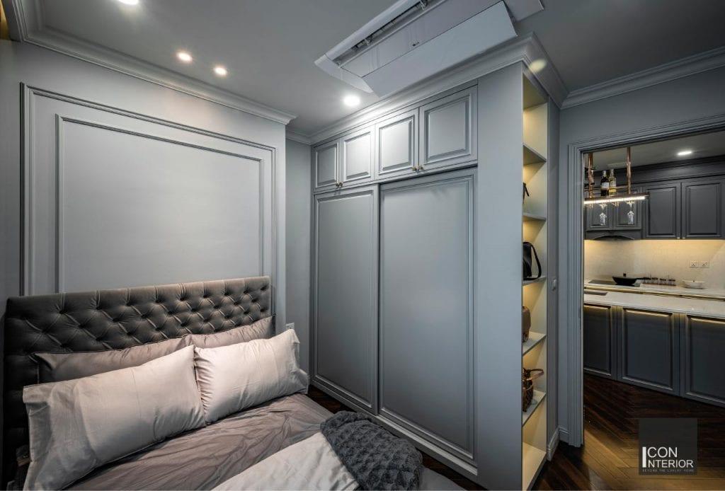 Phòng ngủ thông minh tại căn hộ Mr. Shang