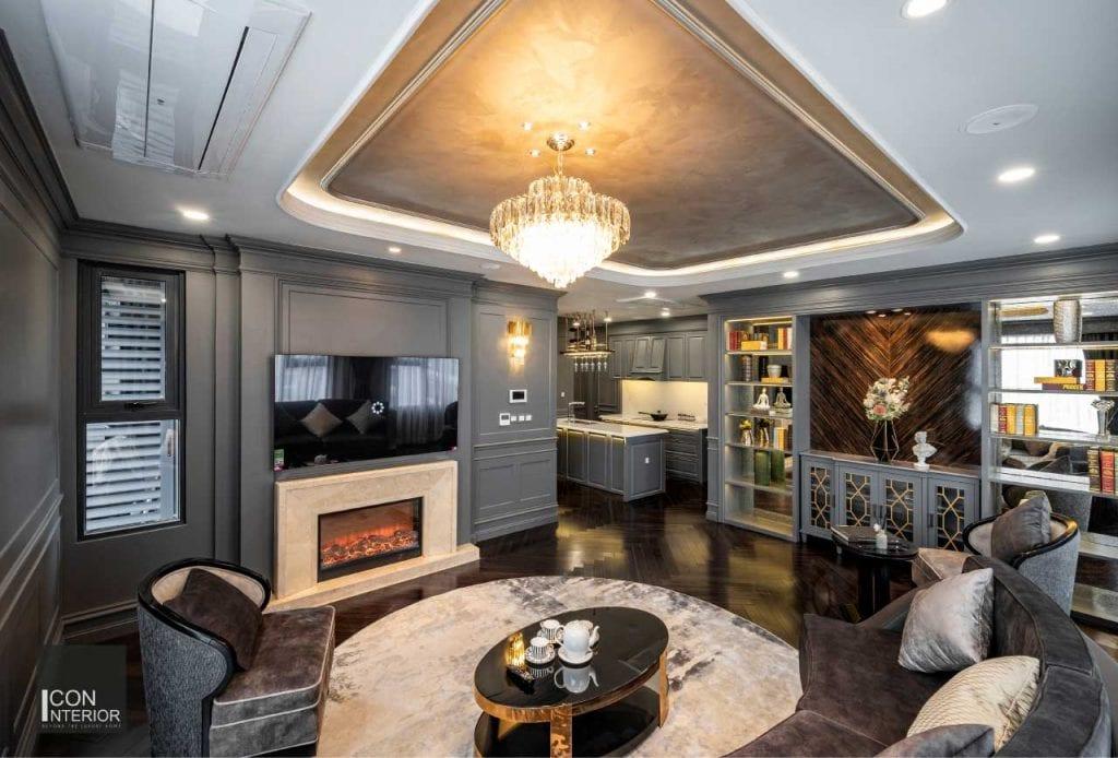 Thiết kế căn hộ Kingdom 101 100m2 Mr. Shang