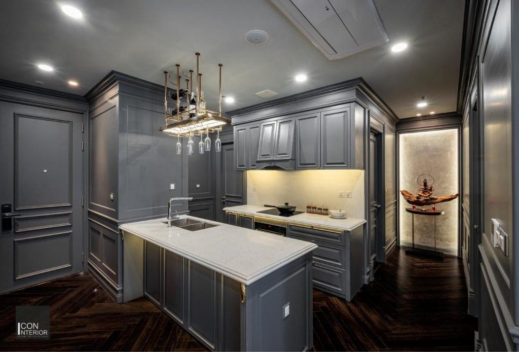 Giải pháp thiết kế công năng căn hộ Kingdom 101 100m2 Mr. Shang