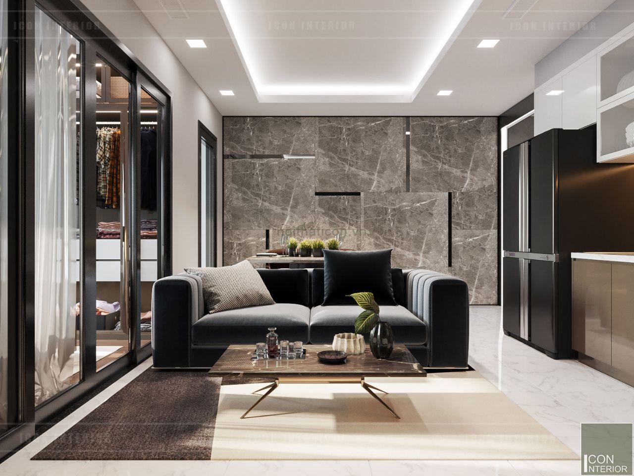 trang trí nội thất căn hộ 60m2