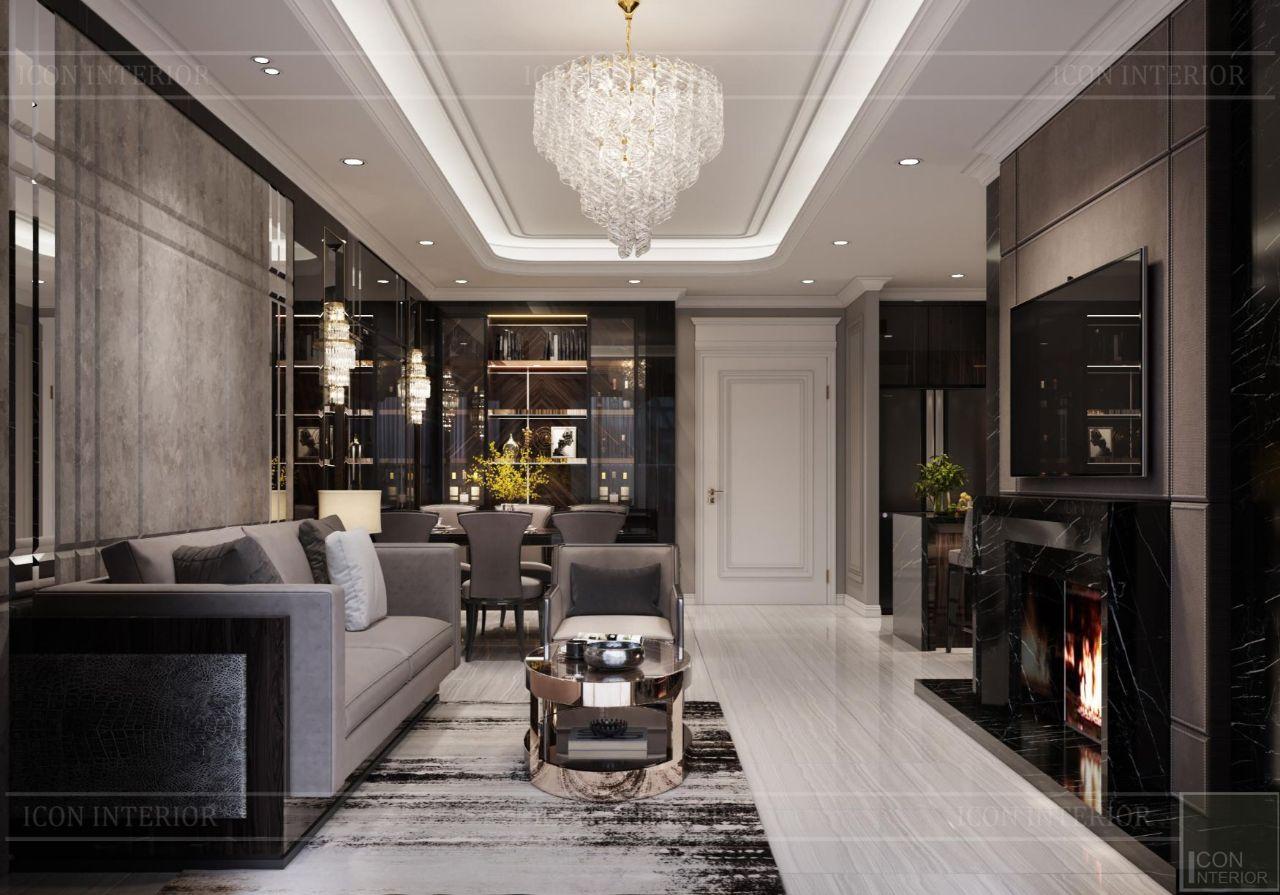 Trang trí phòng khách đẹp hiện đại