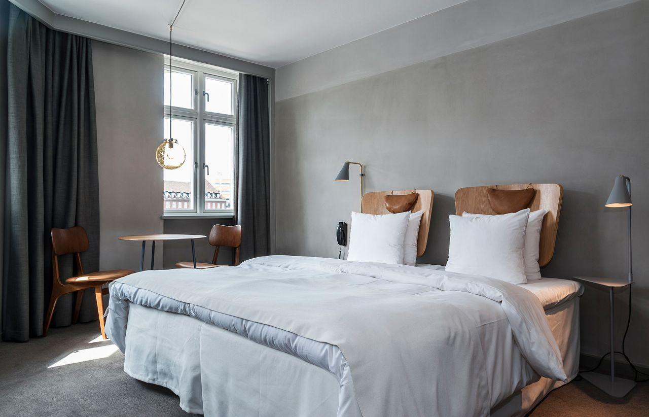 trang trí phòng ngủ theo phong cách scandinavian