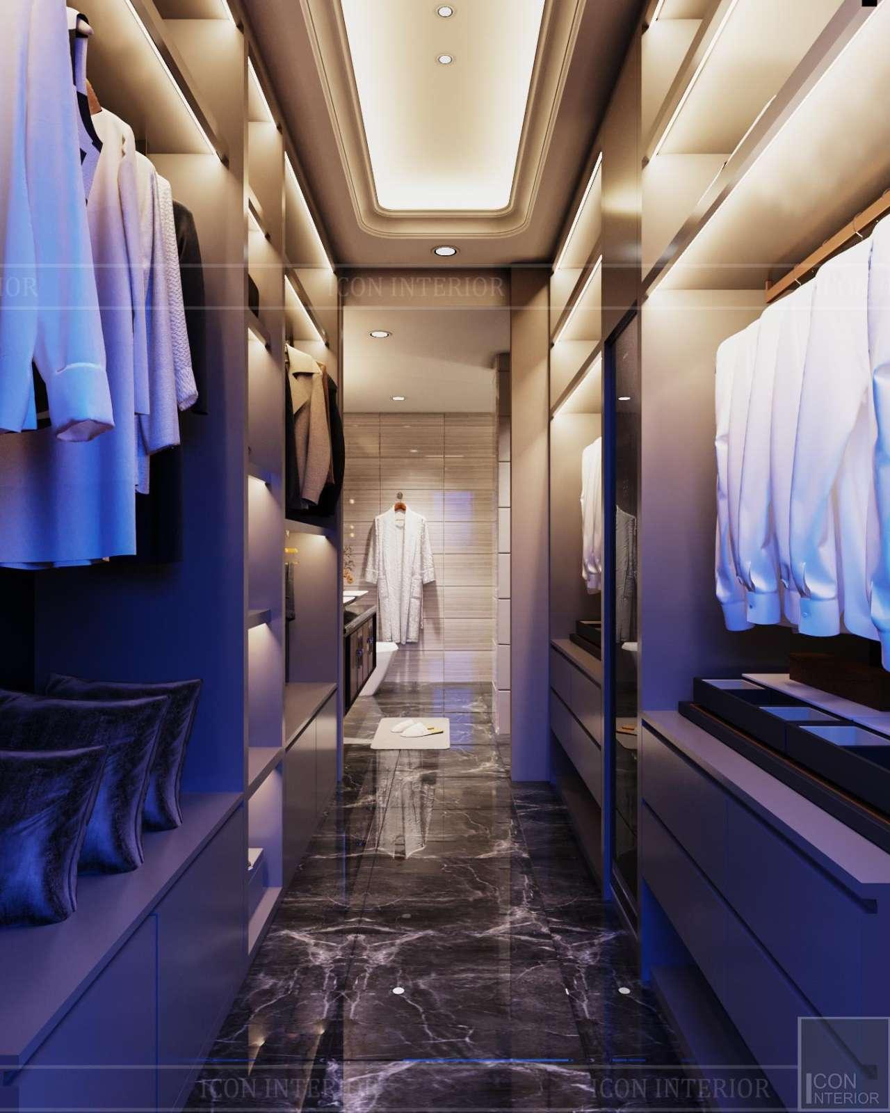 closet căn hộ sunwah pearl