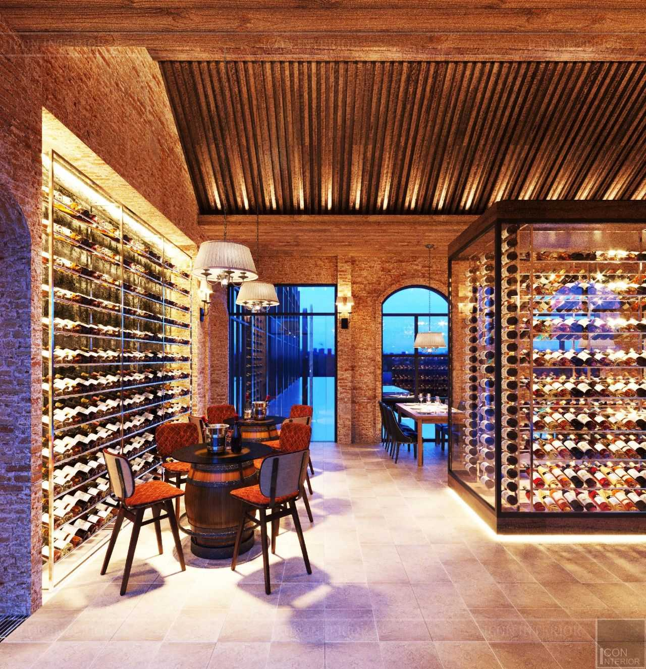 tiêu chuẩn thiết kế hầm rượu