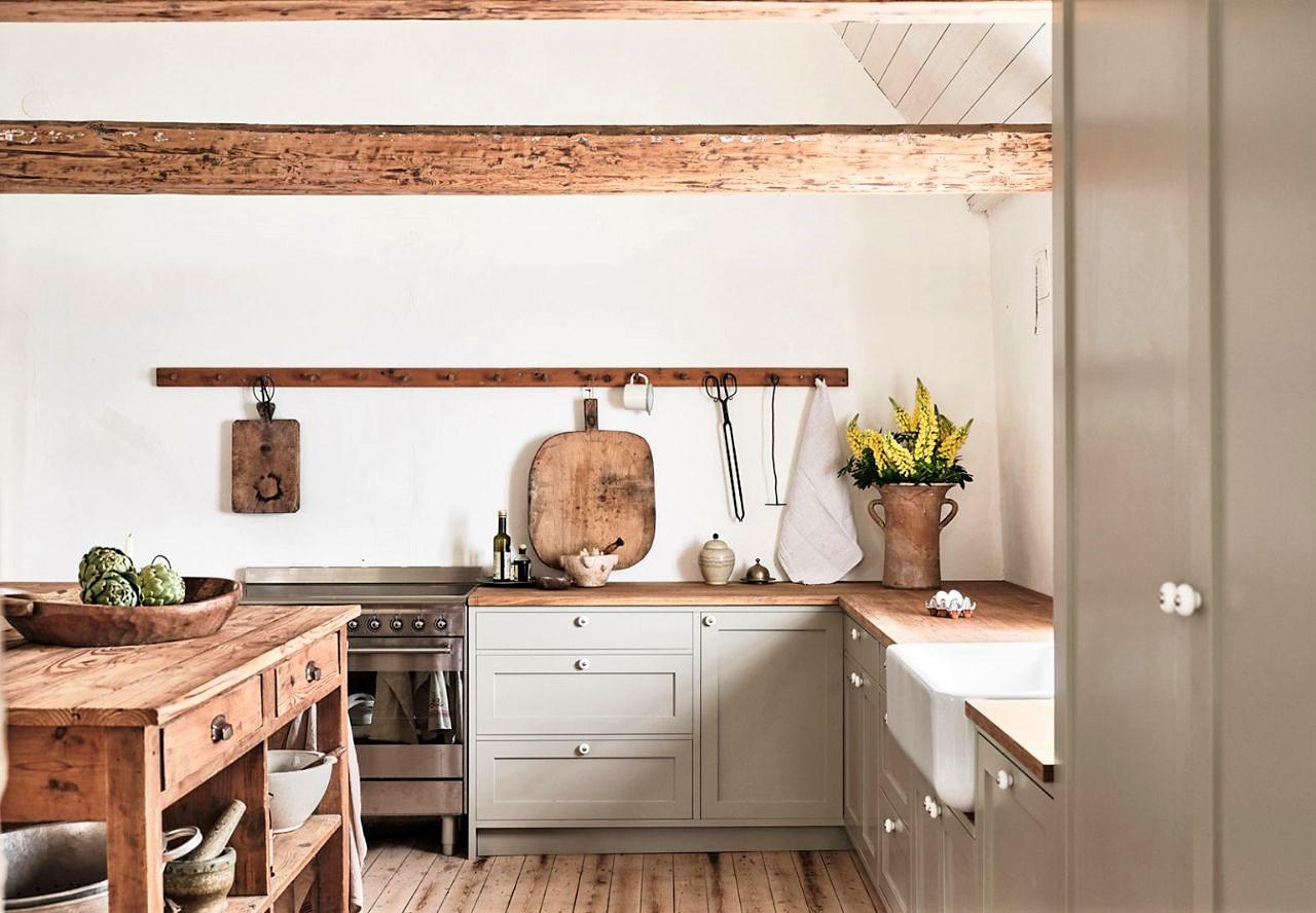 bếp phong cách scandinavian