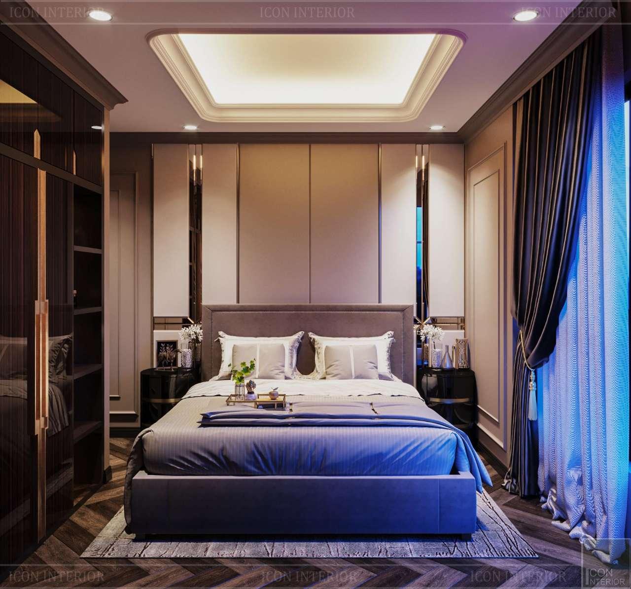 phòng ngủ căn hộ sunwah pearl 123m2 mr. anthony