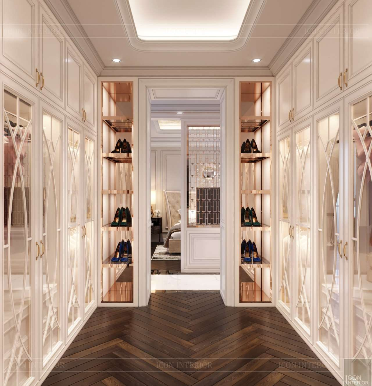 closet penthouse quận 10 200m2 mr. Tuấn Anh