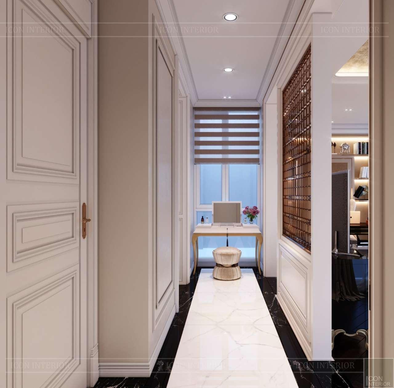 bàn trang điểm penthouse cao cấp