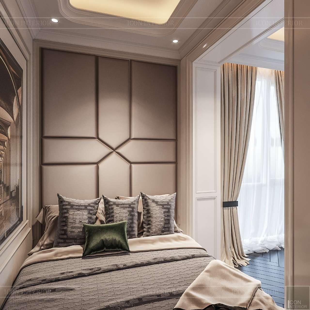 thiết kế phòng ngủ nhỏ penthouse