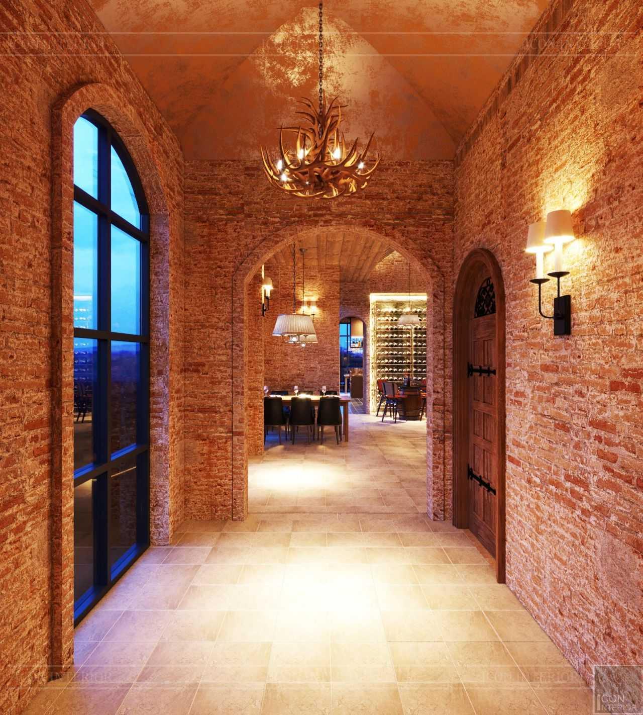 Thiết kế hầm rượu theo phong cách đương đại