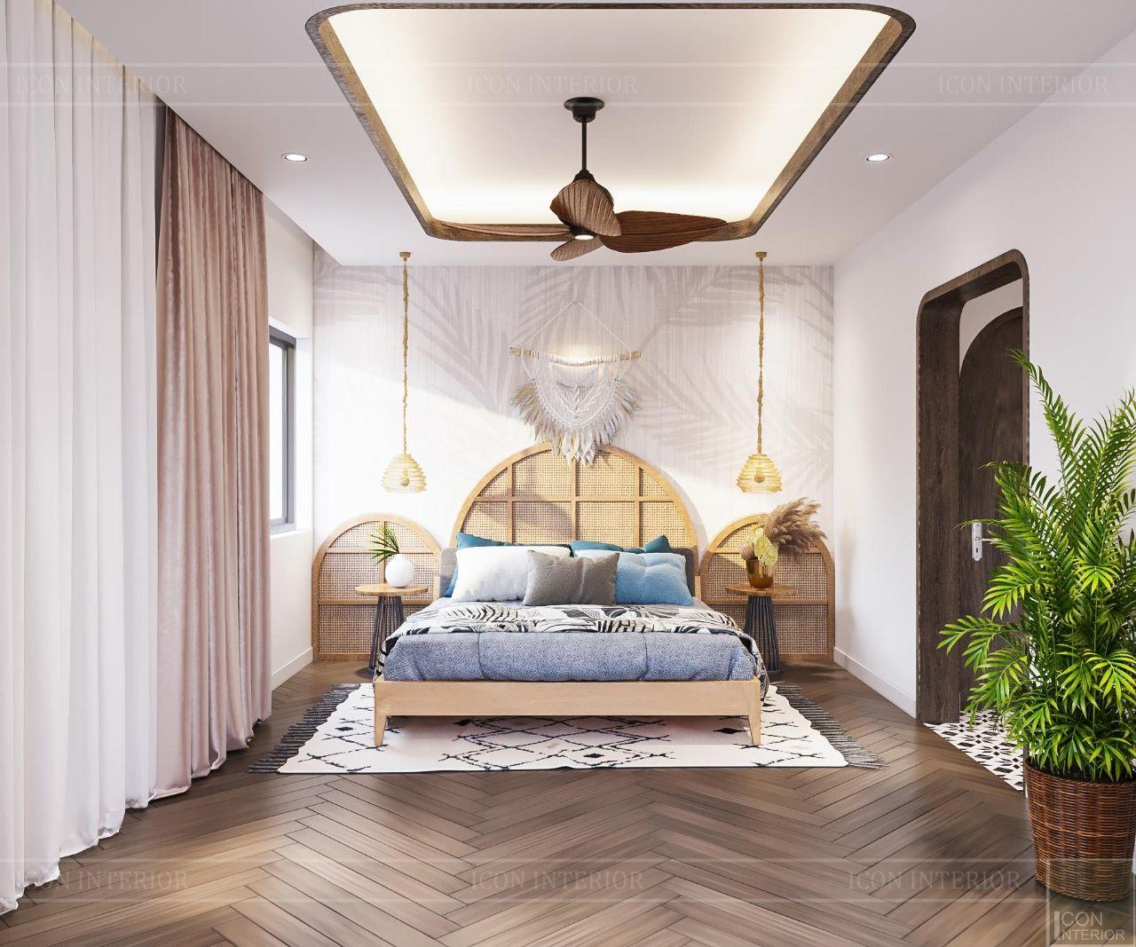 trang trí phòng ngủ trẻ trung hiện đại