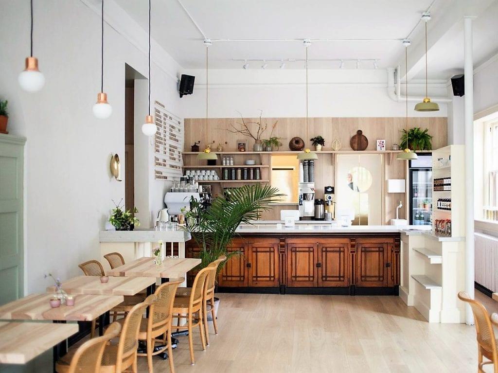 nhà bếp phong cách scandinavan