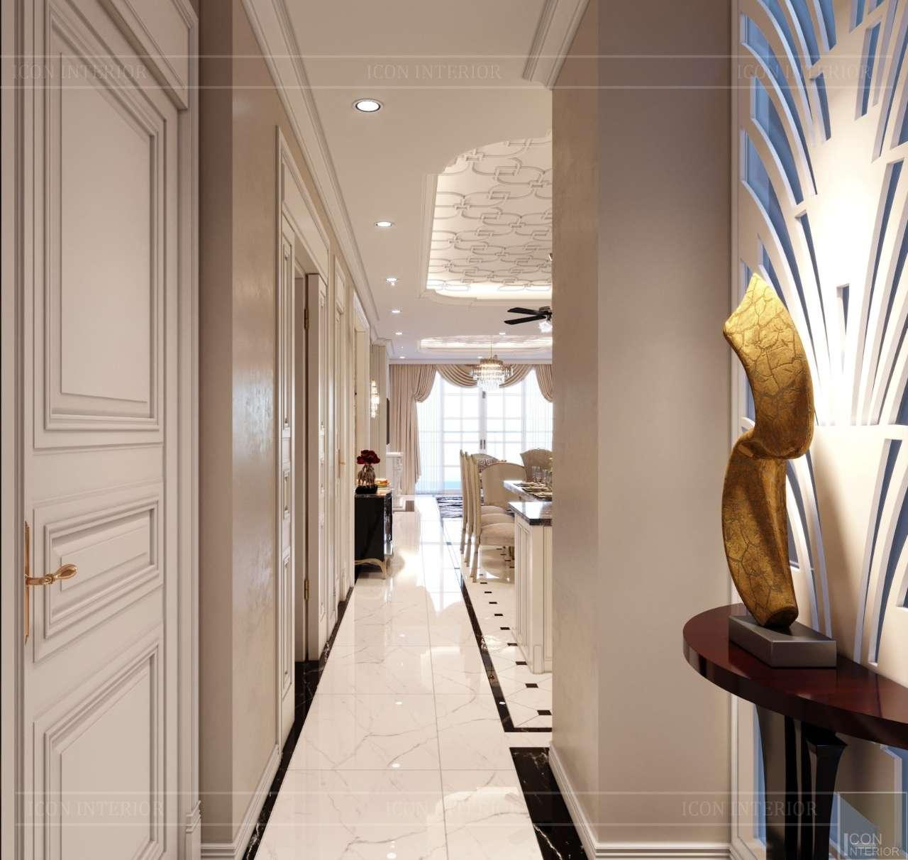 thiết kế lối vào penthouse