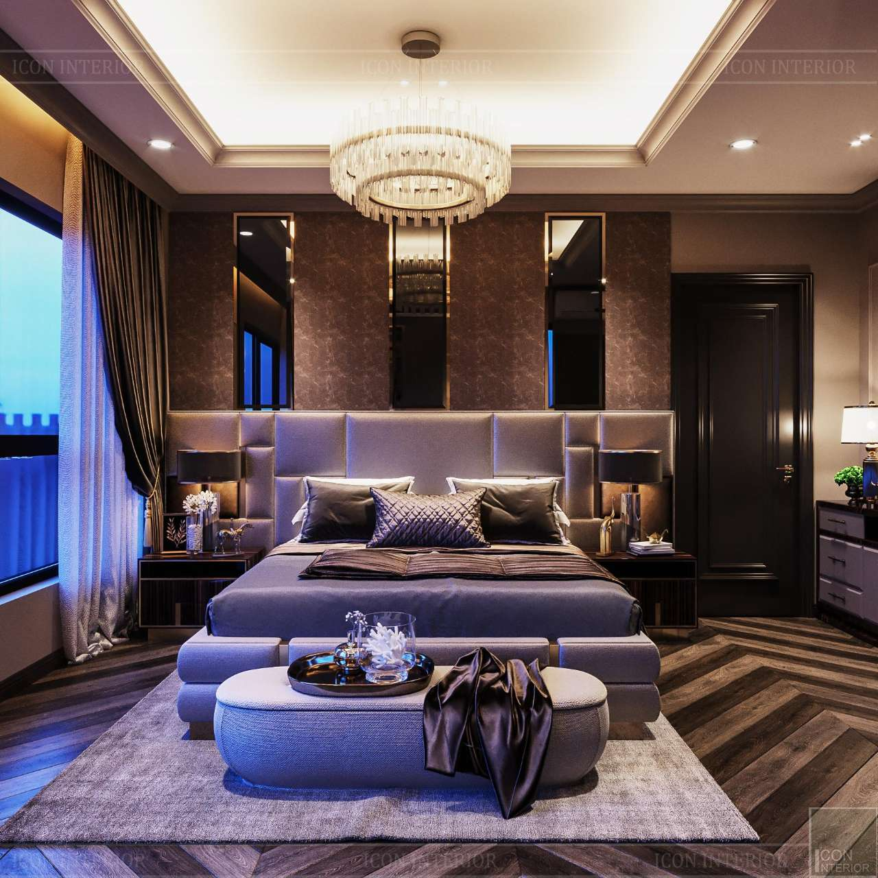 trang trí phòng ngủ chung cư