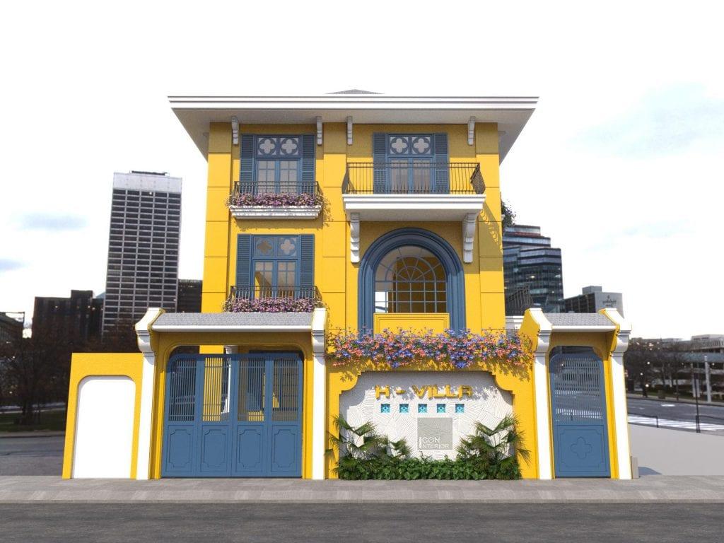 Thiết kế dáng nhà đẹp