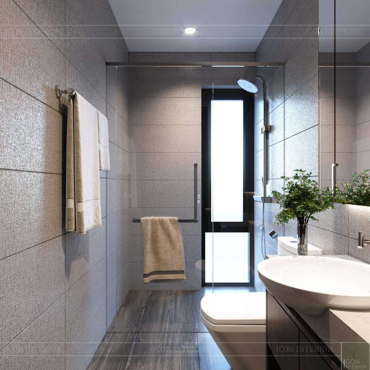 nhà tắm hiện đại nhỏ đẹp