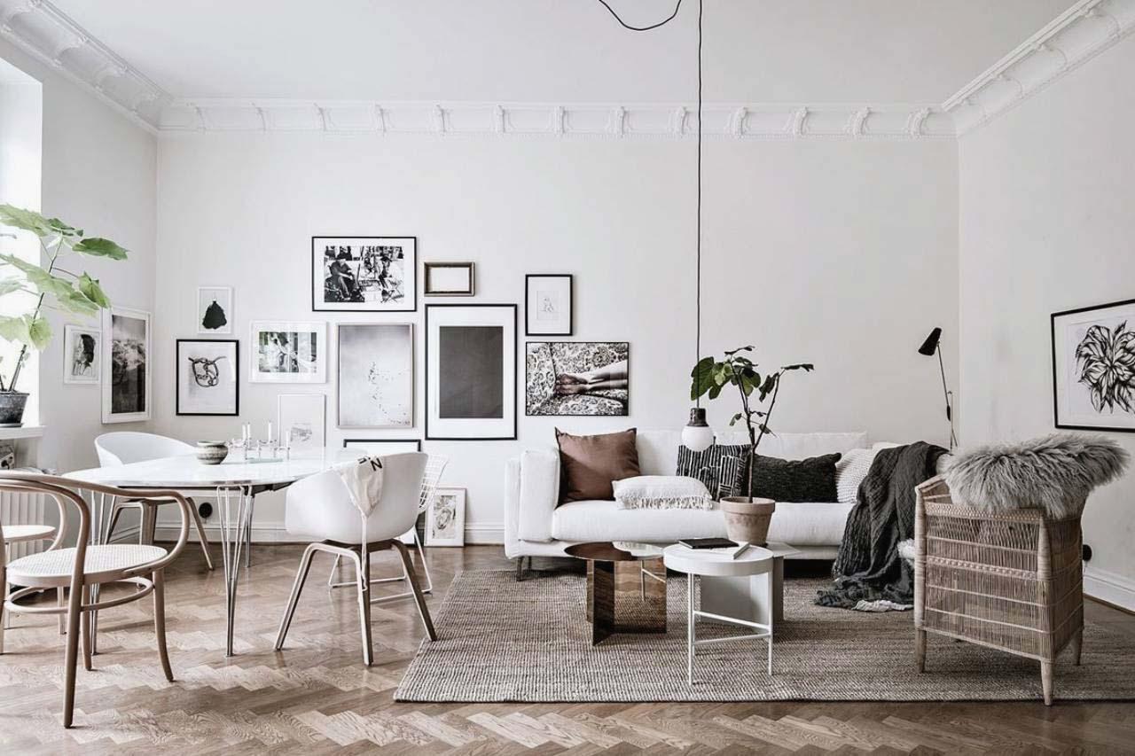 nội thất phòng bếp phong cách scandinavian